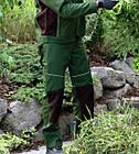 Брюки Starline Plus зеленые Wurth, фото 4