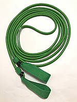 Эспандер для лыжника, боксера, пловца и фитнеса с ручками 10 мм, зеленый, 8 метров, фото 1