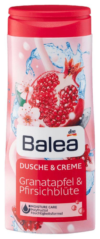 Крем-Гель для душа Balea c ароматом граната и персика 300мл