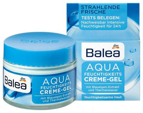 Крем-гель для лица Balea Aqua увлажнение 50мл, фото 2