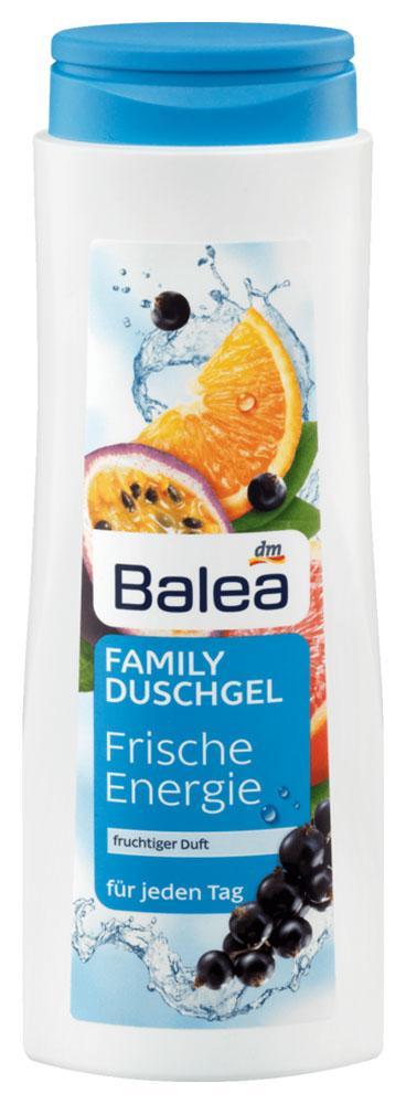 Гель для душа семейный Balea Frische Energie с фруктовым ароматом 500мл
