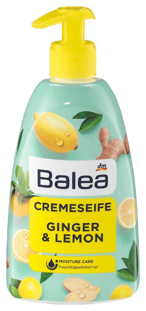 Жидкое мыло Balea с ароматом имбиря и лимона дозатор 500мл