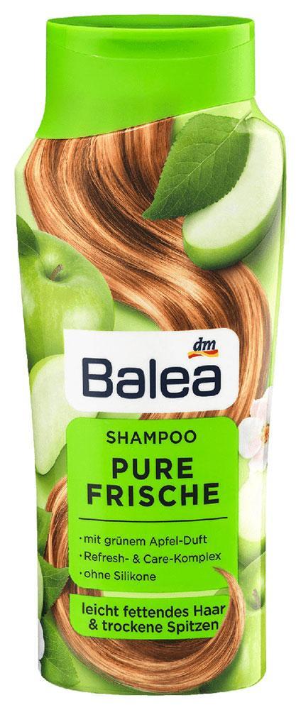 Шампунь Balea Pure Frische для жирных волос и сухих кончиков яблоко 300мл