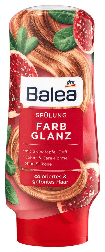 Бальзам Balea Farb Glanz для окрашенных волос гранат 300мл