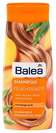 Шампунь Balea Feuchtigkeit с ароматом манго для сухих и поврежденных волос 300мл, фото 2