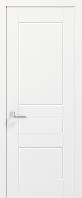 Двери SALSA - полотно+коробка+2 к-кта наличников+добор 77мм, крашенные белый мат, серия CORTES