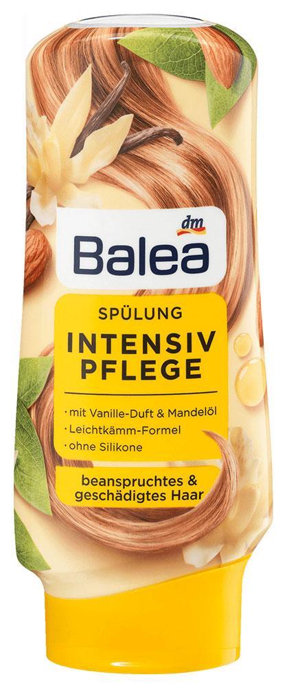 Бальзам Balea для поврежденных волос с ванилью и миндальным маслом 300мл