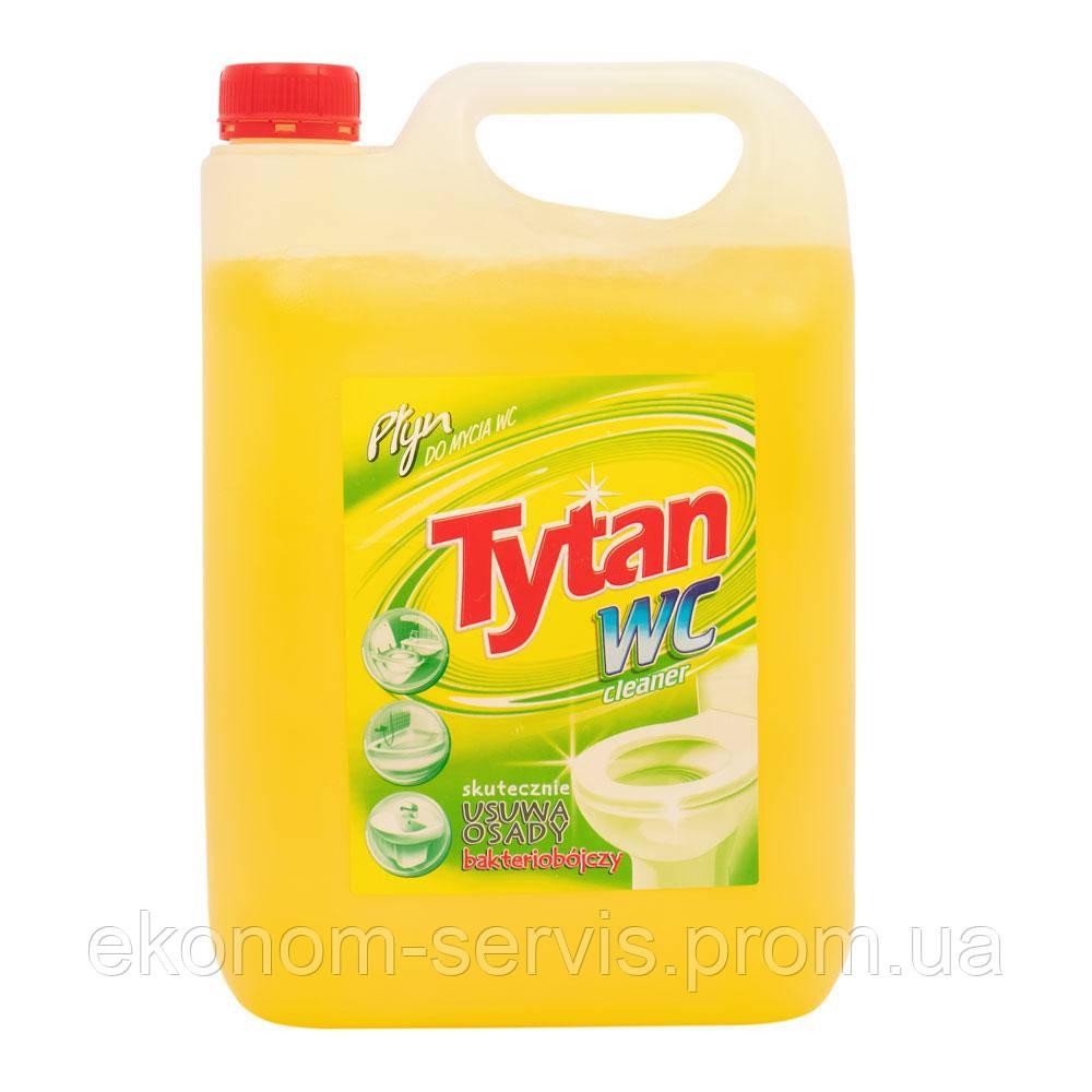 Средство для мытья туалетов Tytan Лимон желтый, 5 л.