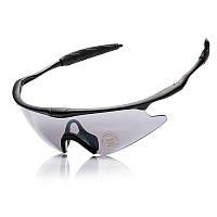 Стильные спортивные очки ROBESBON X100 с высокотехнологичными полимерными линзами для защиты от солнца, фото 1