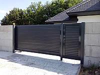 Откатные ворота TM Hardwick (3 100×1 800 мм)