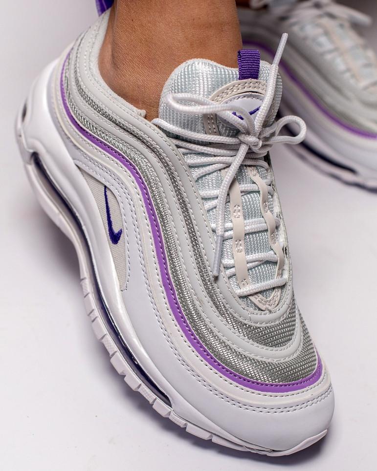adda2d2a Женские кроссовки Nike Air Max 97 (Premium-class) белые, цена 1 329 ...