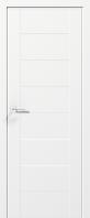 Двери JAZZ - полотно+коробка+2 к-кта наличников+добор 77мм, крашенные белый мат, серия CORTES