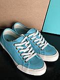 Блакитні, бірюзові кеди бренд seavees 06/67 monterey oxford seevees, фото 5