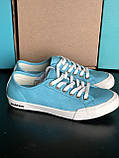 Блакитні, бірюзові кеди бренд seavees 06/67 monterey oxford seevees, фото 4