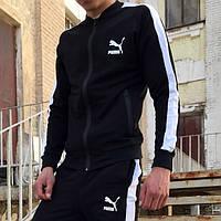 Мастерка мужская Puma line черная, фото 1