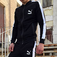 Мастерка мужская Puma line черная