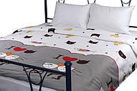 Комплект постельного белья Руно Евро My Cat сатин арт.845.137К_My cat