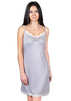 Ночная сорочка из вискозы женская вискозная ночнушка красивая нежная трикотажная, металлик