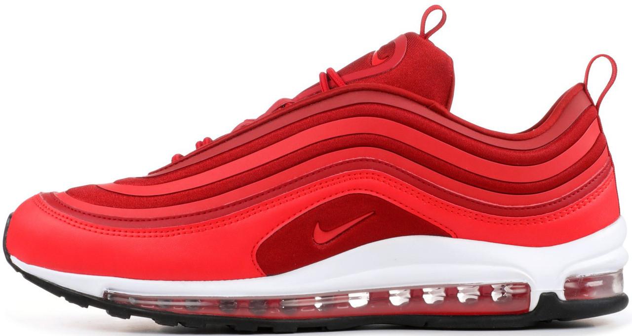 Женские кроссовки Nike Air Max 97 UL '17 Gym (Premium-class) красные