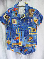 Костюм рубашка +шорты Р 74-86 Украина