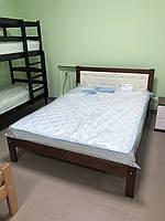 Кровать невада с мягким изголовьем 1.6 на 2м