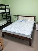 Ліжко невада з м'яким узголів'ям 1.6 на 2м