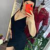 Женский сарафан с декором и бретелях-цепочки в расцветках. Д-79-0319, фото 6