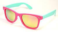Детские солнцезащитные очки Wayfarer (3008 мал-гол)