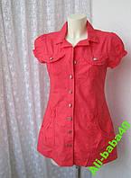 Платье женское модное лето мини хлопок бренд E-vie р.44