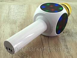 Karaoke L19  WS-1816  LED, L19 блютуз mp3 микрофон с караоке, белый, фото 2