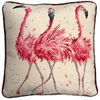 Набор для вышивания Bothy Threads THD24 подушка квадрат Pink Ladies Tapestry