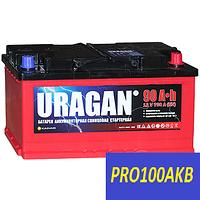Автомобильный аккумулятор Uragan 90 Ач 700 А (1) L+