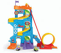 Fisher-Price парк развлечений Little People эко упаковка Loops n Swoops Amusement Park, фото 1
