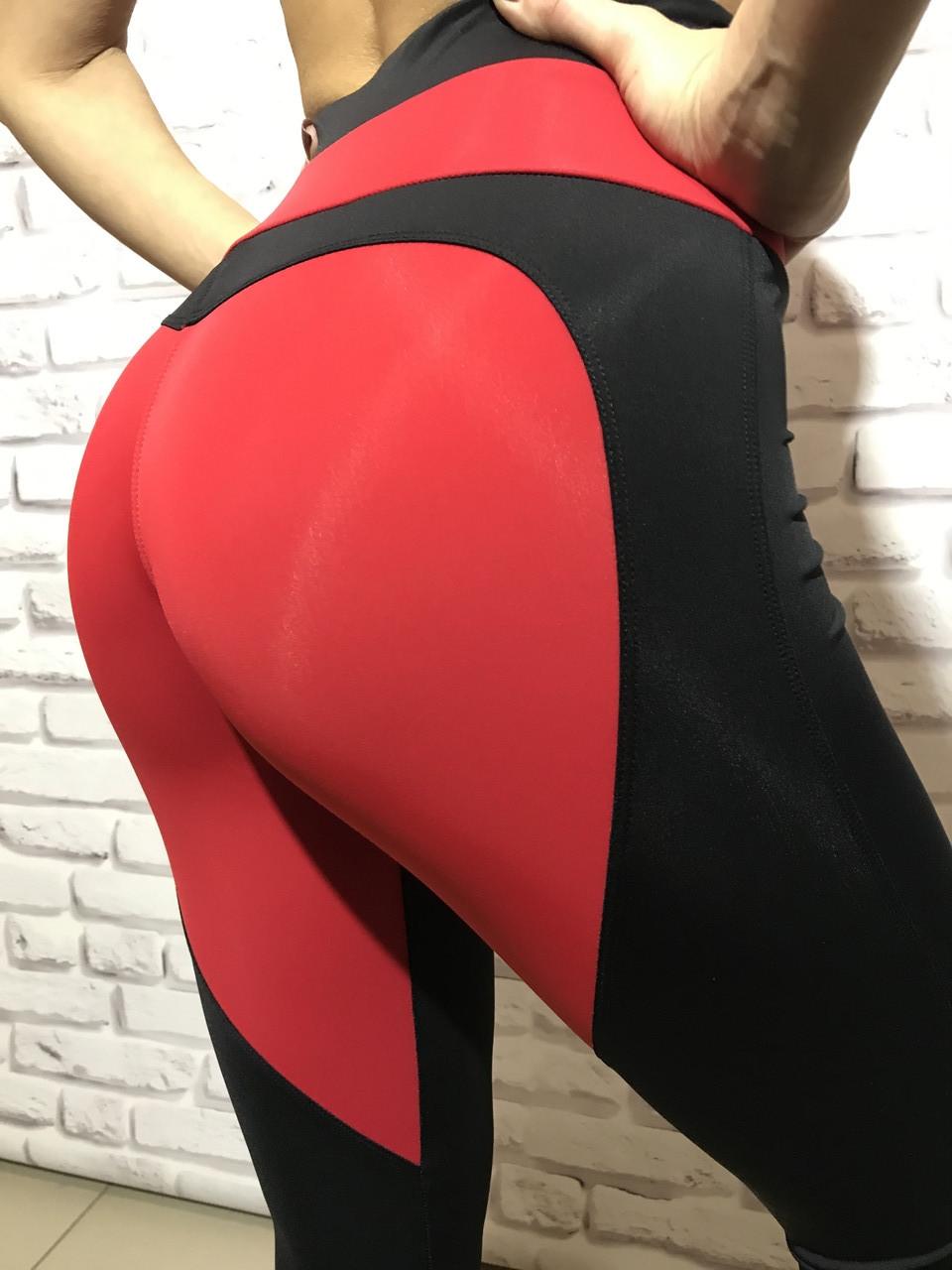 Спортивные женские лосины Red devil