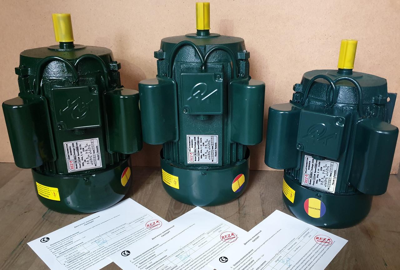 Электродвигатель однофазный RL 100 L4 (4 кВт / 1500 об/мин) 220В Румыния