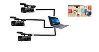 Онлайн трансляция 3 камеры