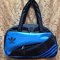 Сумка спортивная adidas  только ОПТ (черный)/спорт сумки /Женская спортивная сумка, фото 1