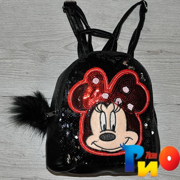 """Рюкзак для девочек с рис """"Miki""""размер 23 /18/10 см (мин.заказ-1 ед)"""