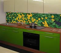 Кухни с пристеновыми панелями (скинали)