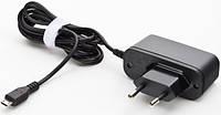 Зарядка 220V–microUSB 2Ah с кабелем 1м, для мобильного телефона, смартфон, планшета