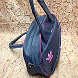 Сумка спортивная adidas  только ОПТ (серый)/спорт сумки /Женская спортивная сумка, фото 2