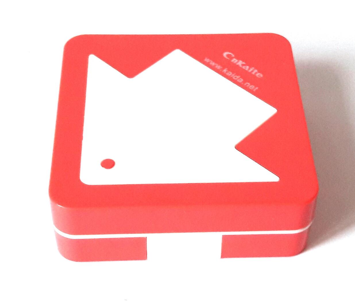 Дорожный полный набор для контактных линз с контейнером, пинцетом, бутылочкой, зеркалом, пудровый, Стрелка