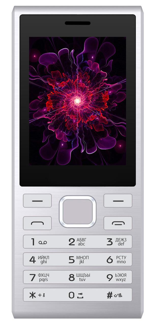 Кнопочный мобильный телефон Nomi i247 Silver