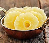 Ананас цукат кольца натуральные 0,250 кг