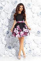 Молодежное платье мини , фото 3