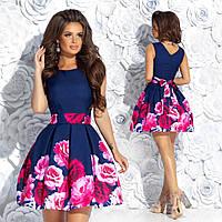 Молодежное платье мини
