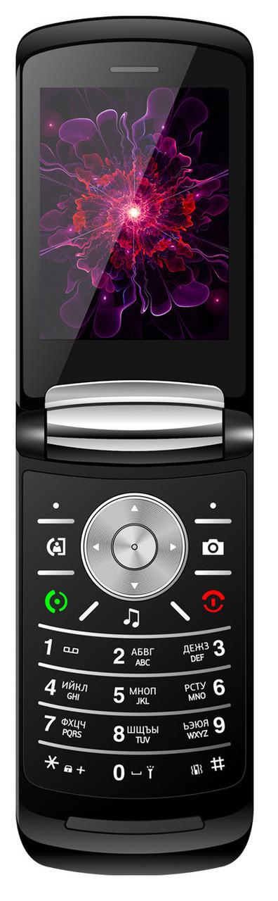 Кнопочный мобильный телефон Nomi i283 Black