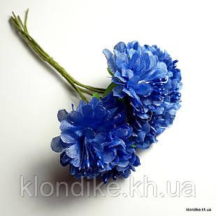 Букетик пион, Цвет: Синий