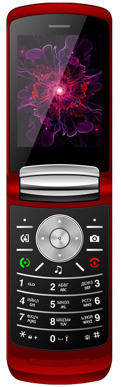 Кнопочный мобильный телефон Nomi i283 Red