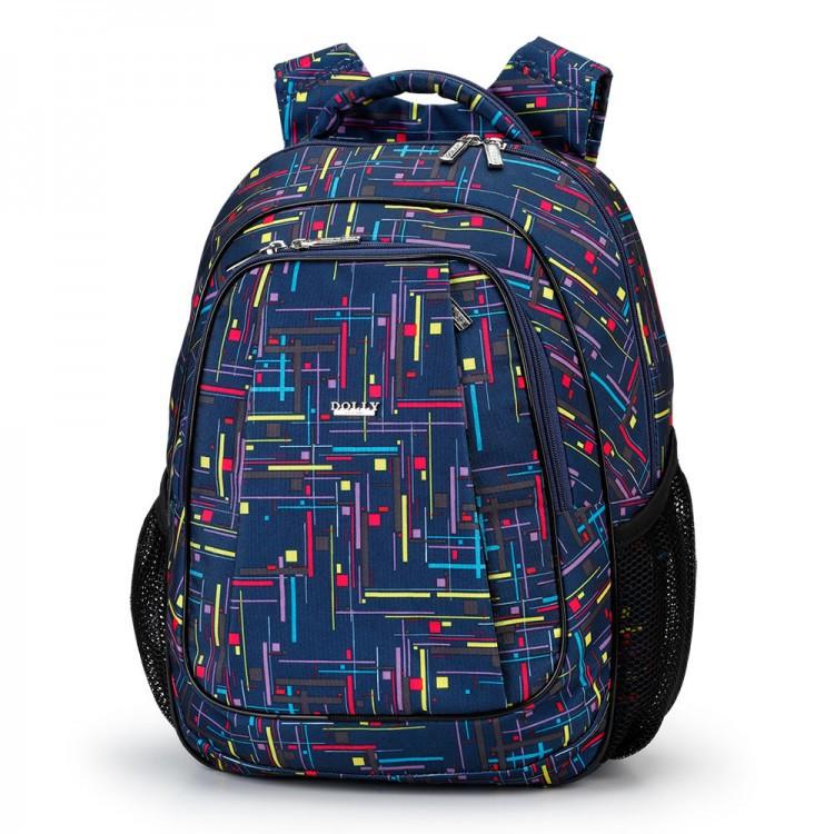 c42ba4814d9c Рюкзак Dolly 529 школьный большой с тыловым карманом размер 30 х 39 х 21см  - Shoppingood